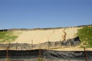 silt fence sediment control